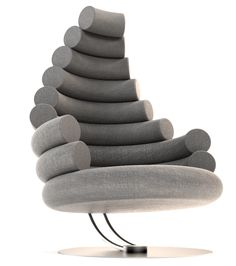 3XR CHAIR || ADJUSTABLE / ROTATABLE LOUNGE CHAIR by Mateusz Chodorowski on Behance