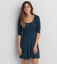 AEO Fit & Flare Dress