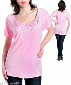 Romina Fashion Top Blouse Plus Size 2X Pink New with Tag