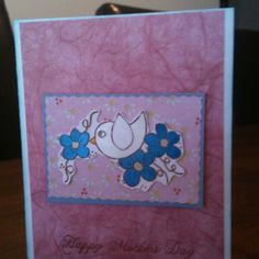 Mothers Day card as made by me!