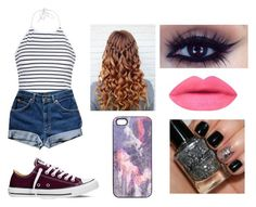 """"" by amycthomas ❤ liked on Polyvore featuring beauty, Ally Fashion, Converse and Samantha Warren London"