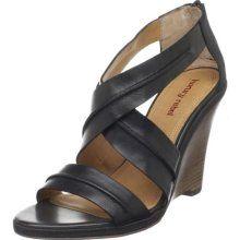Luxury Rebel NAJA Women's Naja Wedge Sandal,Black/Black,35 EU/5 M US...and it's in my size