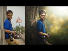 Photoshop Tutorial | Photo Manipulation Change Background & Blending TJ - YouTube