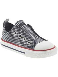 Chuck Taylor All Star Simple Slip on in navy Gingham