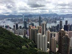 Epic views at Victoria Peak in Hong Kong. #HongKong #urban #travel