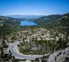 Lincoln Highway at Donner Pass