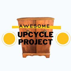"""Watch the video to see the """"after"""". Upcycled Furniture, Furniture Projects, Wood Furniture, Wood Projects, Diy Craft Projects, Garden Projects, Design Projects, Crafts For Kids, Wood Crafts"""