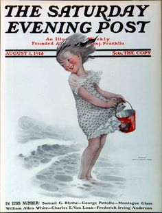 Aug 01 1914 Cover art by Sarah Stillwell Weber