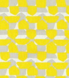 Rocker cushion? Home Decor Print Fabric- Nate Berkus Caicos Print Paramount Sulfur
