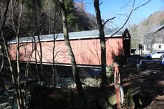 covered bridge at McConnell's Mills, Slippery Rock, PA