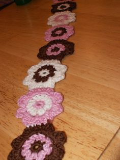 Crochet Projects 011 by KlarinetteGal, via Flickr