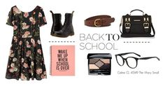 """Back to school... in style!"" by smartbuyglasses ❤ liked on Polyvore featuring FOSSIL, River Island, Dr. Martens and Christian Dior"