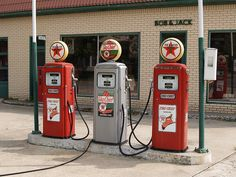 Texaco Gas Pumps by will139 on Flickr.