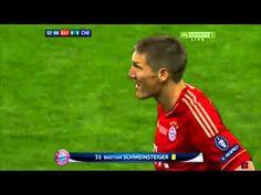 Bastian Schweinsteiger 'HANDS' yellow card champions league final bayern münchen chelsea FC