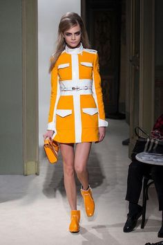 2013 spring runway trend with a 60's inspiration.