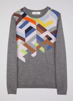 knitwear (I love this. Most awesome fall sweater!)