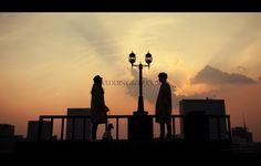 Korea Pre Wedding Photoshoot Review by WeddingRitz.com »  Moonlight Scooter Studio 'ARNOBO'