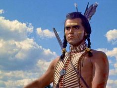 Jeffrey Hunter in White Feather