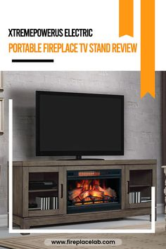 If you are planning to buy XtremepowerUS Electric Portable Fireplace TV Stand, then you should read our review first. Find out all the essential details before you buy 🔝