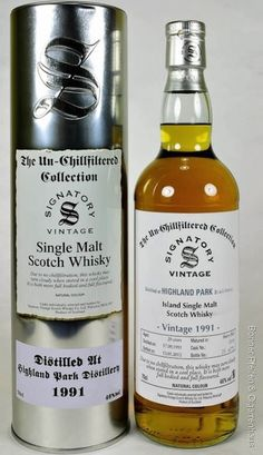Signatory un-chillfiltered Collection, Highland Park Whisky