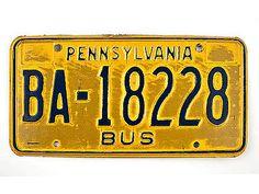 US-Kennzeichen Pennsylvania