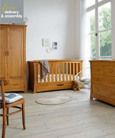 Ocean 3 Piece Set - Spring Oak - Furniture Sets - Mamas & Papas