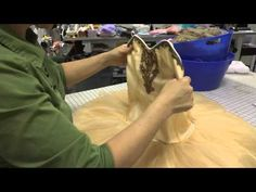 Constructing a Classical Ballet Tutu (Part 7: Finishing the Tutu and Final Fitting) - YouTube