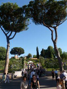 Rome's Roseto Comunale