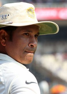 Sachin Tendulkar watches proceedings at Eden Gardens, India v West Indies, 1st Test, Kolkata, 3rd day, November 8, 2013