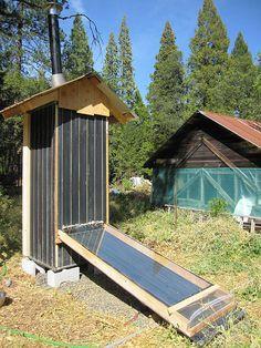 awesome solar food dehydrator.