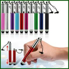 Retractable Stylus touch Pen for iphone samsung android
