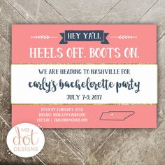 We've found the best bachelorette tanks, Nashville party invites, Nash Bash party favors, decorations, Bachelorette Tanks, Bachelorette Party Invitations, Bachelorette Weekend, Party Favors, Wedding Party Shirts, Party Needs, Nashville, Wedding Details, Tennessee