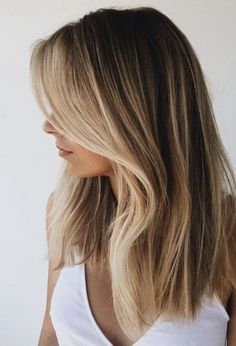 Blonde front pieces.