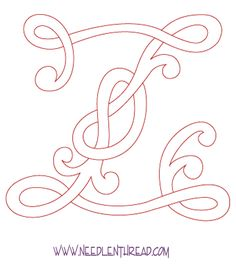 Monogram for Hand Embroidery: Celtic Z