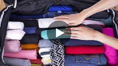 l 39 astuce g niale pour gagner beaucoup de place dans sa valise alimentation pinterest. Black Bedroom Furniture Sets. Home Design Ideas