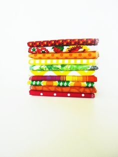 Sunshine Bold Cloth Napkins  Reusable Paper Towels  Bright