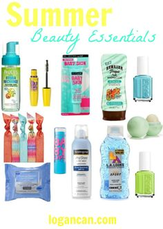 Beauty Essentials - nice inexpensive suggestions - worth a shot for sure!