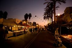 Taking place every Tuesday night, Surf City Nights - Downtown Huntington Beach's weekly street fair.