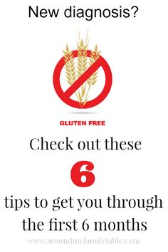 6 Tips for Following a Gluten Free Lifestyle