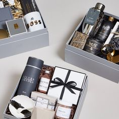 Attempting to find fun company their personal gifts for getting a patient to compliment your team? Weve got the foremost unique selection. Diy Gift Baskets, Gift Hampers, Hampers For Men, Corporate Gift Baskets, Corporate Gifts, Gift Box For Men, Diy Cadeau, Christmas Party Favors, Curated Gift Boxes