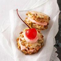 Cherry Pistachio Cremes