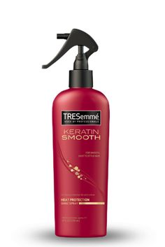 This is a must get. By Tresemmé Keratin Smooth Heat Protection Shine Spray