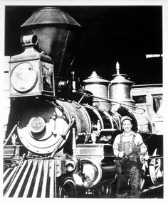 Walt--he loved trains so much that he built a small track & train for his backyard