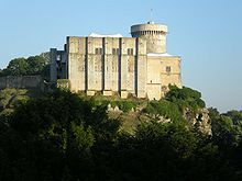 Chateau de Falaise in Falaise, Lower Normandy, France; William was born in an earlier building here.
