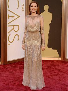 Angelina Jolie @ Oscars 2014  - what a beauty !!