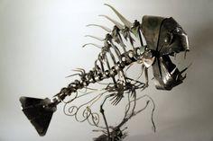 Scrap Metal Fishy - 3 by Devin-Francisco.deviantart.com on @deviantART