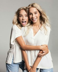 Lisa and Lena photo shoot