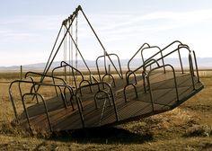 Kolin,Montana, School Playground