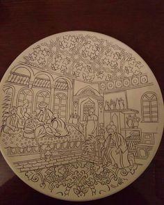 Turkish Tiles, Turkish Art, Islamic Patterns, Indian Art Paintings, Islamic Calligraphy, Pottery Painting, Art Background, Geometric Art, Islamic Art