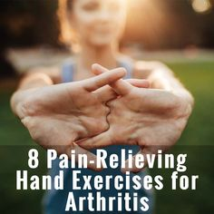 There are many forms of arthritis. Osteoarthritis, rheumatoid arthritis, psoriatic arthritis, and others which all cause joint pain. Arthritis pain in your hands is extremely uncomfortable and can prevent you from doing simple daily activities, like buttoning your shirt or opening the toothpaste cap. Hand exercises can help relieve arthritis pain and keep your fingers moving.
